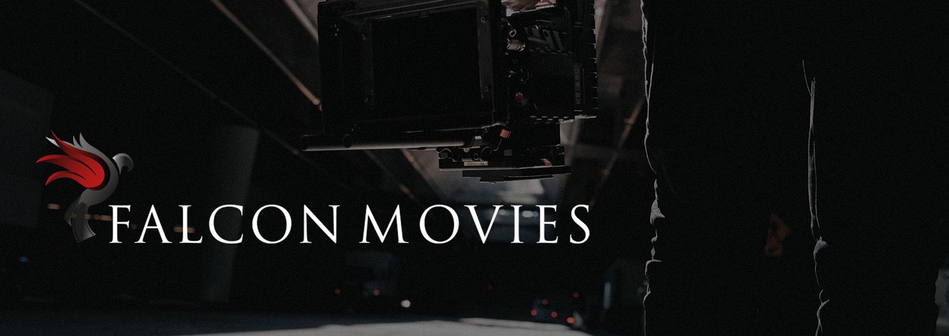 falcon movies, homme portant une caméra