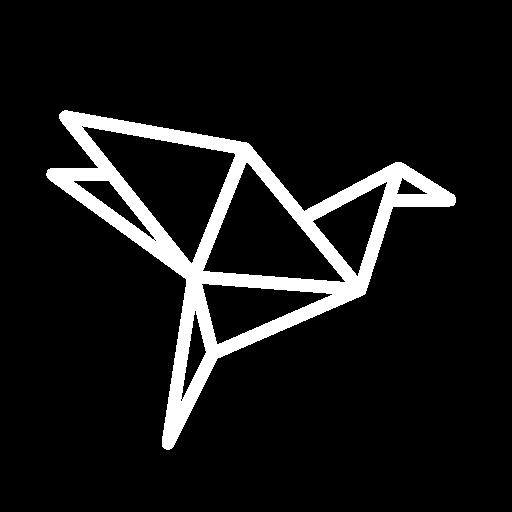 icone origami artistique