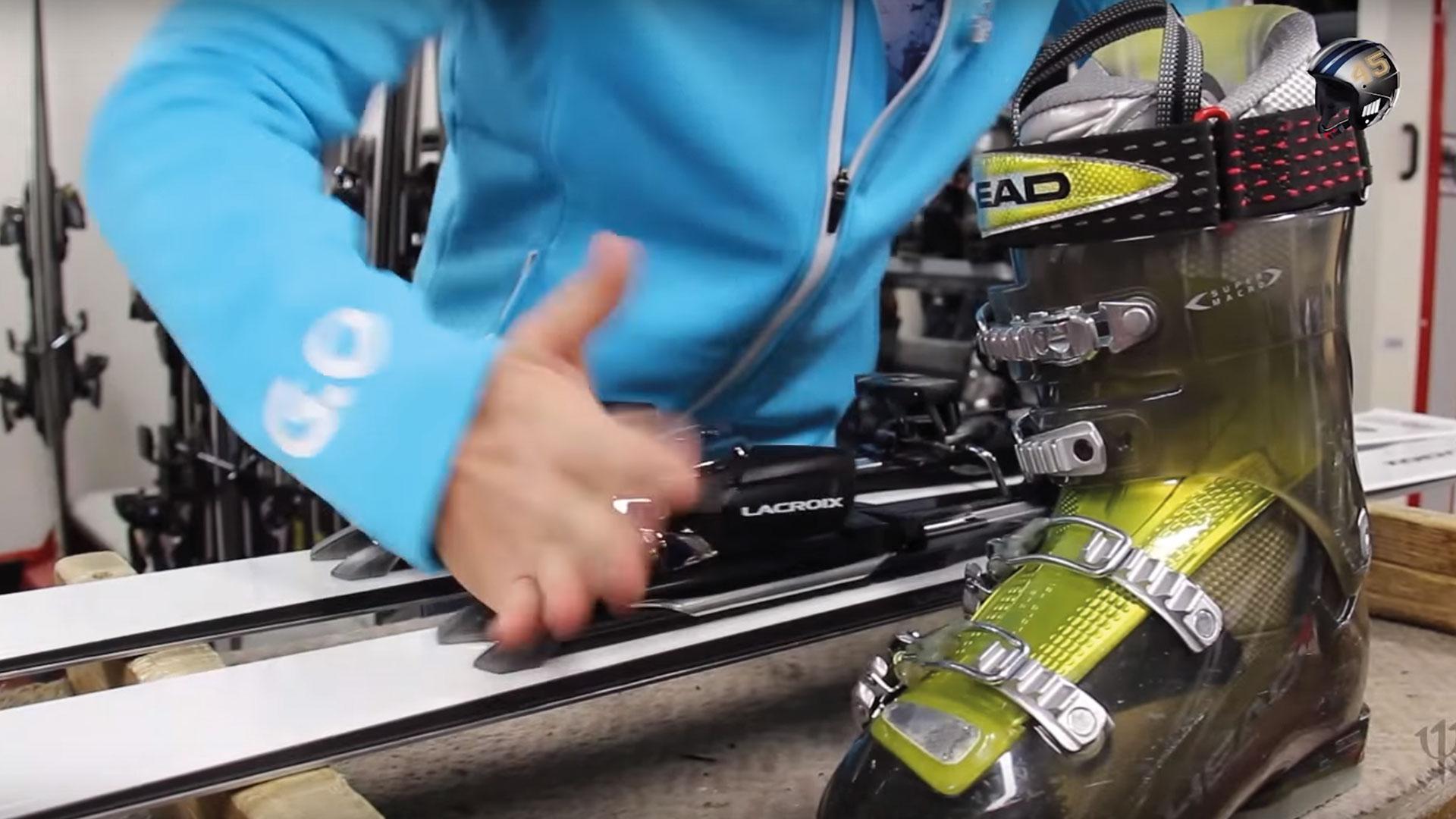 fixation de ski